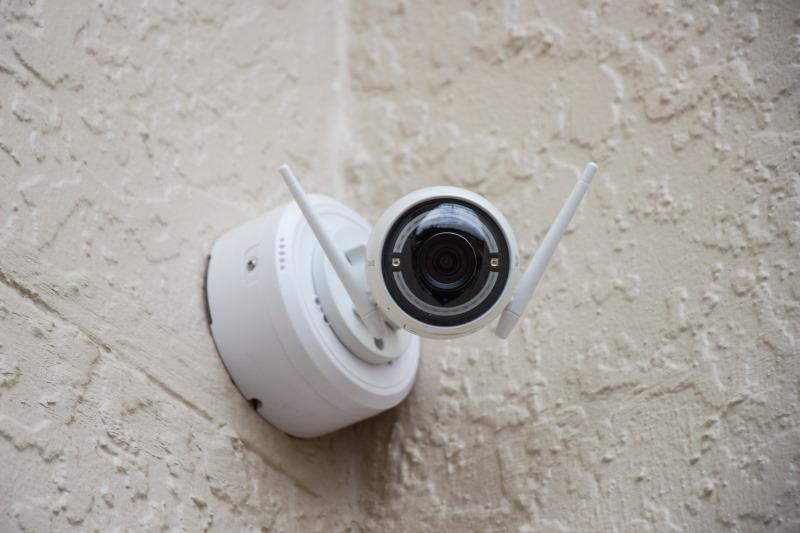 κάμερα ασφαλείας με κεραίες